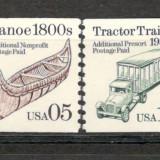 S.U.A. 1991 Miloace de transport KS.123 - Timbre straine, Nestampilat