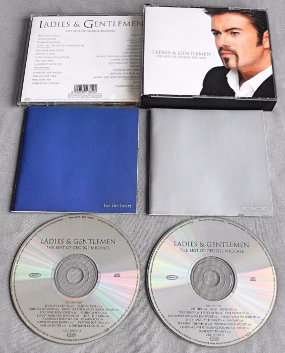 George Michael - Ladies and Gentlemen: The Best of George Michael (2 CD) foto mare