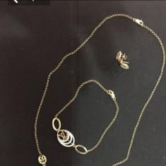 Set louis vuitton - Set bijuterii aur