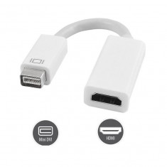 Adaptor Mini DVI la HDMI cablu adaptor pt Apple Macbook / iMac FullHD - Adaptor laptop