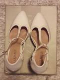 Pantofi piele Lazzarini incaltaminte sandale dama masura 36 +CADOU!, Din imagine, Cu toc
