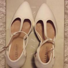 Pantofi piele Lazzarini incaltaminte sandale dama masura 36 +CADOU! - Pantof dama, Culoare: Din imagine, Piele naturala, Cu toc