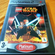 Joc Lego Star Wars the videogame, PS2, original, alte sute de jocuri! - Jocuri PS2 Altele, Actiune, 3+, Single player