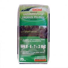 Fertilizant pentru gazon NPK 8-6-7+3 MgO DCM( 25 Kg) - Gazon natural