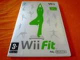 Wii Fit, pentru Wii, original, PAL, Sporturi, 3+, Multiplayer, Ubisoft