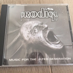 The Prodigy - Music For The Jilted Generation CD - Muzica Dance