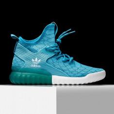 Adidasi Originali Adidas Tubular X Primeknit, Noi, Autentici, 36 2/3 - Adidasi barbati, Culoare: Din imagine, Textil