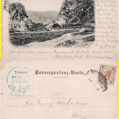 Campulung Moldovenesc ( Bucovina, Suceava )- clasica, rara - Carte Postala Bucovina pana la 1904, Circulata, Printata