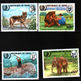 1985 nigeria mi. 933-936 stampilate - Timbre straine