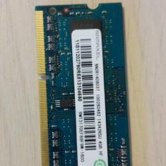 Memorie laptop 4GB DDR3 1600Mhz Ramaxel cu 8x512Mb Elpida, 1XRAM double sided - Memorie RAM laptop