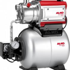 Hidrofor AL-KO HW 3000 Inox Classic, 650 W, inaltime max. pompare 28 m, aspiratie 8 m, debit max. 3100l/h - Pompa gradina