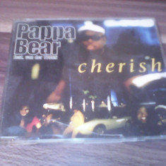 CD PAPPA BEAR FEAT.VAN DER TOORN-CHERISH ORIGINAL 1997 UNIVERSAL MUSIC - Muzica Hip Hop