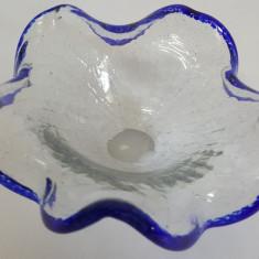 SCRUMIERA VECHE STICLA MURANO - Scrumiera sticla