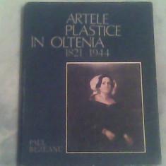 Artele plastice in Oltenia 1821-1944-Paul Rezeanu