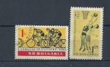 BULGARIA 1960 – SPORT CICLISM, BASCHET,  serii stampilate, R1