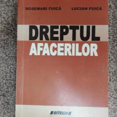 DREPTUL AFACERILOR - SITECH, FUICA - Carte Drept financiar