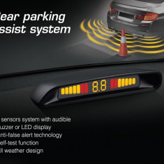 Sistem Senzori Parcare cu Afisaj Display Led si Avertizare Sonora - Senzor de Parcare