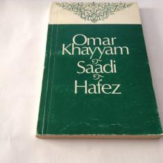 OMAR KHAYYAM SAADI HAFEZ,R7