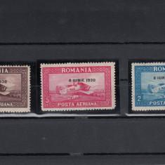 ROMANIA 1930 LP 84 a C. RAIU SUPRATIPAR 8 IUNIE 1930 FILIGRAN ORIZ.SERIE MNH - Timbre Romania, Nestampilat