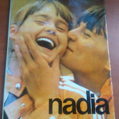 Nadia Comaneci - Album, Editura Sport-Turism 1977, text Ioan Chirila - Carte sport