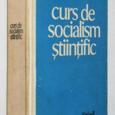 Curs de socialism stiintific Ed. Politica -1975 - Carte Politica