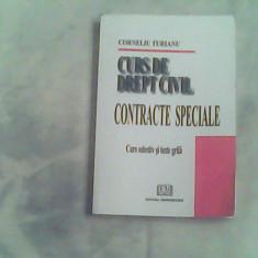 Curs de drept civil-contracte speciale-C.Turianu - Carte Drept civil