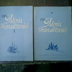 Din istoria Transilvaniei 2 volume - C. Daicoviciu, St. Pascu, V. Cherestesiu, T. Morariu - Istorie