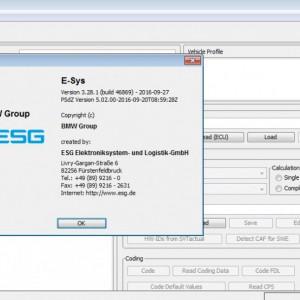 BMW ENET tester diagnoza F, G si I , E-sys 3.30.1, Rheingold 4.15.16 , Codings
