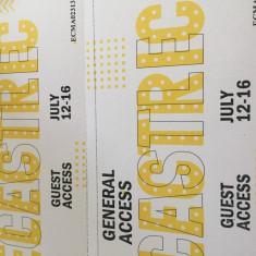 2 bilete la Electric Castle. General access - 4 zile. - Bilet concert