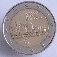 Moneda 2 euro comemorativa MALTA 2017_Hagar - UNC, Europa, Cupru-Nichel