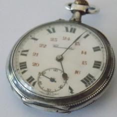 Ceas argint de buzunar Chronometre - Ceas de buzunar vechi