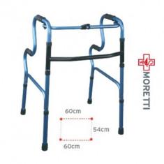 Cadru de mers pliabil cu maner pe doua nivele - Articole ortopedice