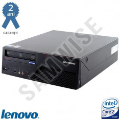 Calculator Lenovo M58, Intel Core 2 Duo E8400 3GHz, 2GB DDR3, 160GB, DVD-RW - Sisteme desktop fara monitor Lenovo, 2501-3000Mhz, 100-199 GB, LGA775
