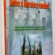 Limba si literatura romana pentru clasa a x-a 2002 - Manual scolar, Clasa 10