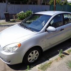 Autoturism Hyundai Accent, An Fabricatie: 2007, Benzina, 97500 km, 1399 cmc