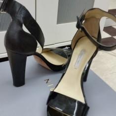 Sandale Calvin Klein cu platforma - Sandale dama Calvin Klein, Culoare: Negru, Marime: 39
