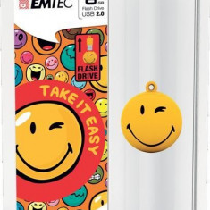 PEN DRIVE 8GB EMTEC USB 2.0 SMILEY