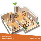 Apartament nou si spatios de 2 camere in Pantelimon