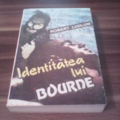 IDENTITATEA LUI BOURNE-ROBERT LUDLUM 1993