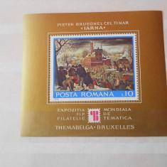 1975 LP 900  EXPOZITIA MONDIALA DE FILATELIE TEMATICA  THEMABELGA'75'' BRUXELLES