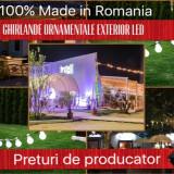 Ghirlande Luminoase Ornamentale Exterior, Pret Producator, de la 9.16 lei/m