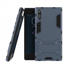 Husa hibrid g-shock pentru Sony Xperia XZ/XR, dark blue - Husa Telefon