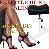 Suport Pedichiura Picior  Salon Ucenic Profesional NEGRU