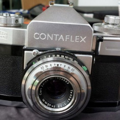 Aparat foto Zeiss Ikon Contaflex 1957. Serie No J 12663. Defect.