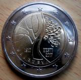 ESTONIA moneda 2 euro comemorativa 2017_Independenta, UNC, Europa, Cupru-Nichel