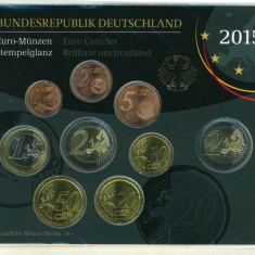 GERMANIA - Set Monetarie 2015 - BU, Europa