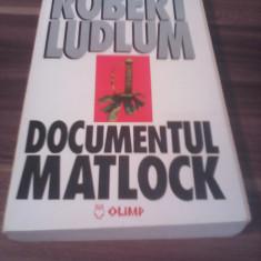 ROBERT LUDLUM-DOCUMENTUL MATLOCK
