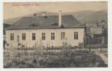 Transilvania aprox 1908 ilustrata Cancelaria comunala din Sibiel jud Sibiu