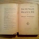 SCIENCE OCCULTE et Magie Pratique - Paul-C. Jacot - Editions Dangles, 1924, 317p - Carte ezoterism