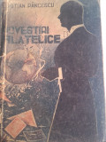 CRISTIAN PANCESCU(dedicatie/ semnatura) POVESTIRI FILATELICE, 1946
